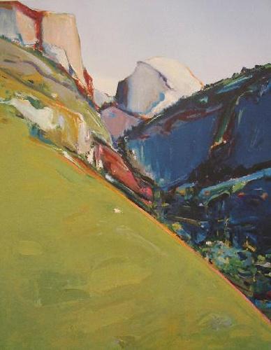 """Half Dome, Yosemite"" by the legendary Greg Kondos, Print on Paper - 22""x17"""