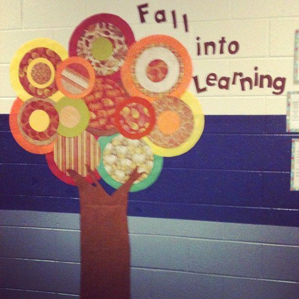 fall bulletin board ideas   Fall into Learning Paper Tree. ...   Classroom Ideas (Bulletin Board ...