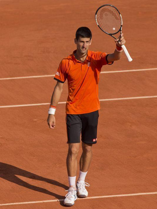 Novak Djokovic vs. Andy Murray in French Open semifinal, June 2016