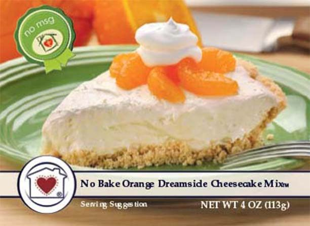 No-Bake Orange Dreamsicle Cheesecake tastes like a dream! It's creamy and has delicious orange pieces for a bright and unforgettable flavor. Just add cream cheese, whipped topping, and place the mixtu