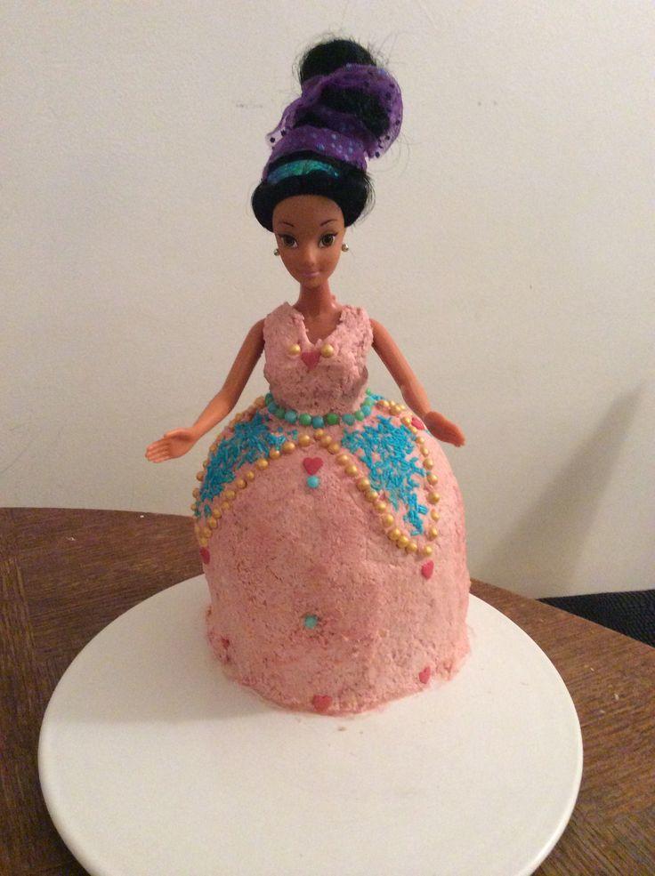 Doll princess cake