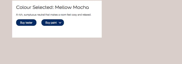 Mellow mocha - bedrooms walls
