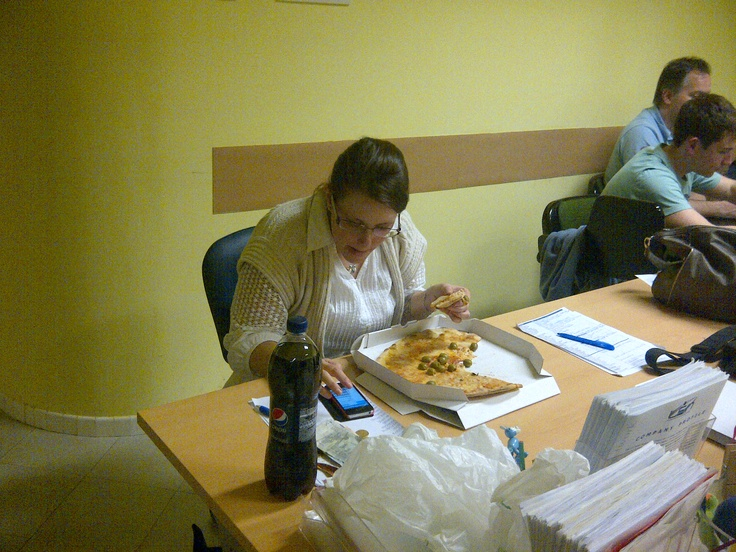 Preparazione Project Work and Pizza