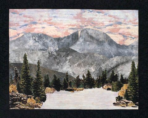 Landscape Quilts Photo Gallery - All About Quilting, with Hundreds                                                                                                                                                                                 More