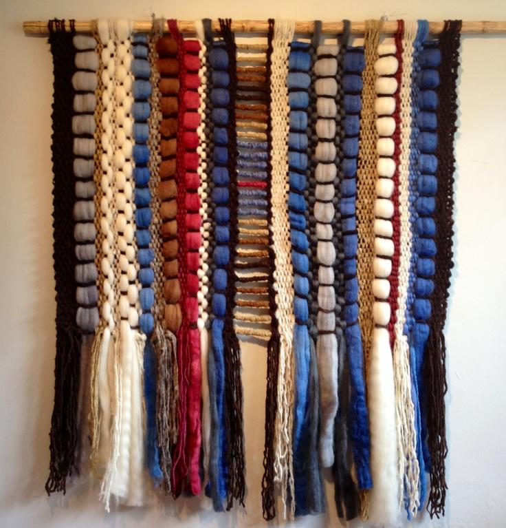 Telar decorativo, telaresytapices ,arte textil, diseño textil,
