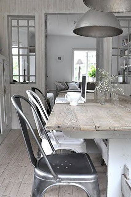 If you are looking for a style for your dining room, check these awesome industrial dining rooms out! Brick walls, upcycled wood, concrete and industrial metal furniture – all together it looks amazing! Pure industrial décor is suitable mostly for masculine interiors, so if you don't want to go so far, then try to mix...