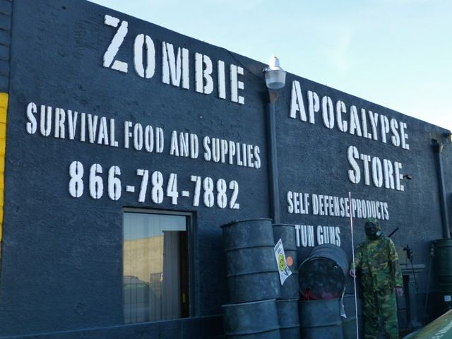 Zombie Apocalypse Store Las Vegas - only because I'm from Vegas! and you find the most interesting stuff there
