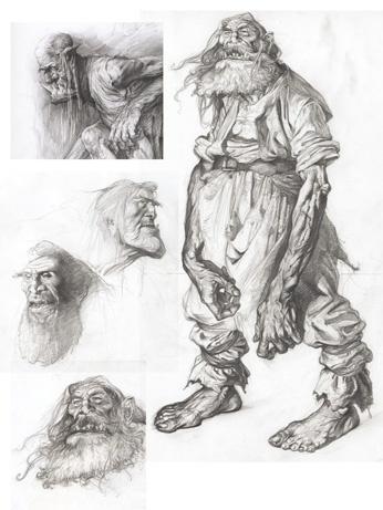 Petar meseldžija character creationcharacter concept artcharacter designpencil drawing