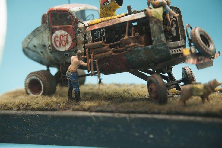 На юг.(RAT RACER) — Каропка.ру — стендовые модели, военная миниатюра