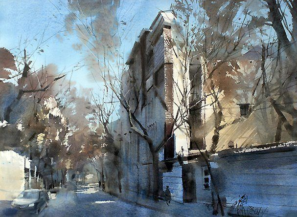 ping long watercolor - Bing Изображения