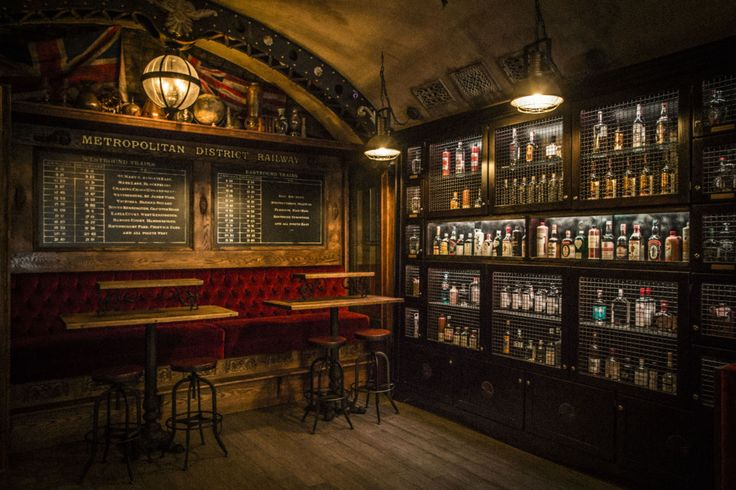 San Fran - Whitechapel bar - HUGE menu, designed after an abandoned London Underground station. Gin focus.
