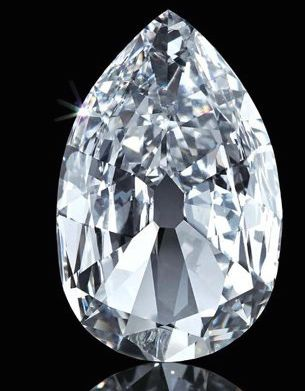 """Diamant """" The Arcot II"""" © V&A Museum"""