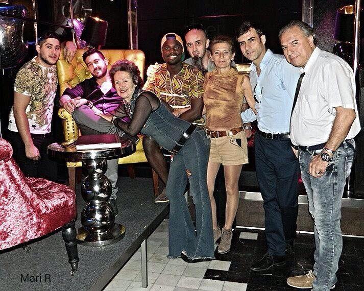 Terminando rodajes en The Culture Club Madrid octubre 2.016