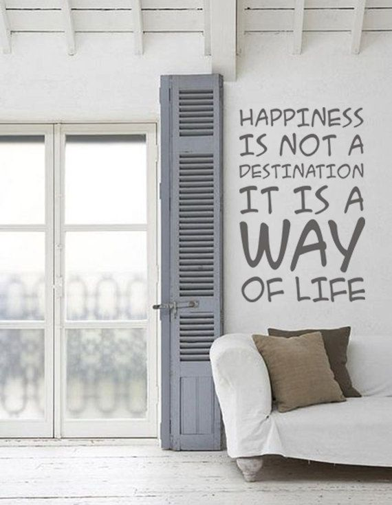 Great for a livingroom or Kitchen Quote Vinyl Wall Decal Words Vinyl Stickers Family by FabDecals, $37.00