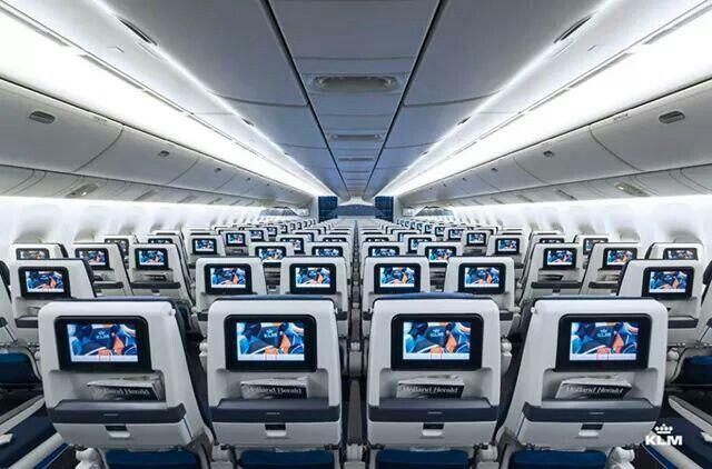 Klm Plane Interior
