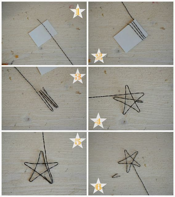 DIY Star from wire