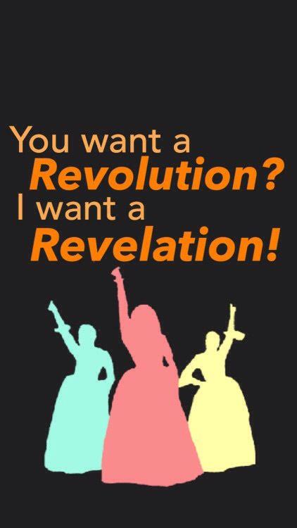 So listen to my declaration #Hamilton