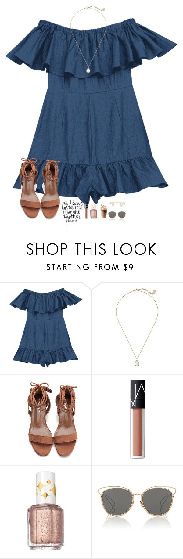 """""""Diamonds in the skye✌"""" by kolbee24 ❤ liked on Polyvore featuring beauty, Kendra Scott, NARS Cosmetics, Essie and Christian Dior"""