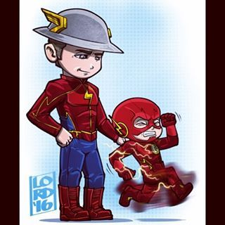 """Lordmesa Art — """"Not So Fast Kid"""" Loved their conversation last..."""
