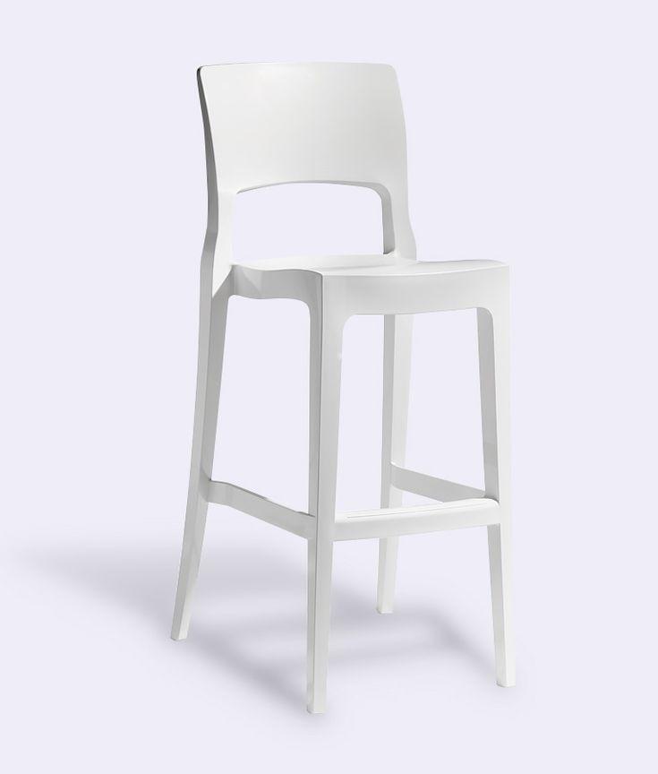 ISY Bar Stool in White by Impaczone