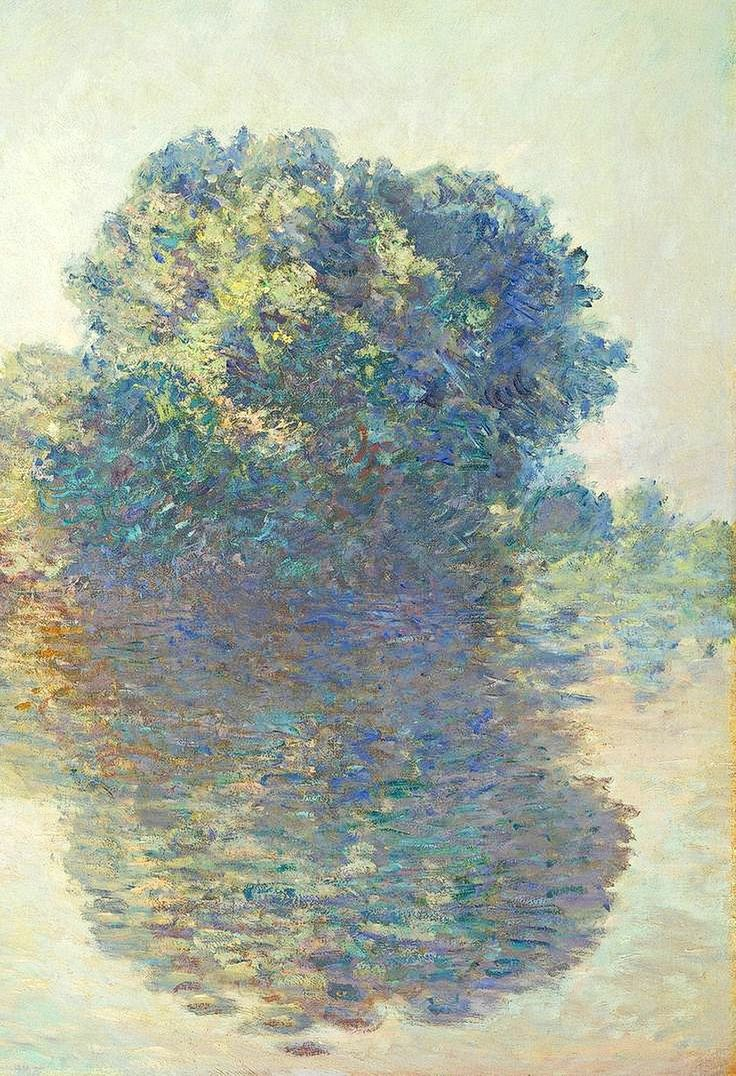 """ Claude Monet . The Seine at Giverny, 1897 """