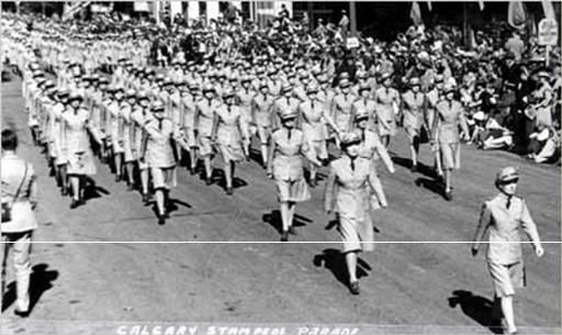 Canada's Remembrances: People of The War on Land | Canadian Women's Army Corps | Canadian Women's Army Corps on Parade