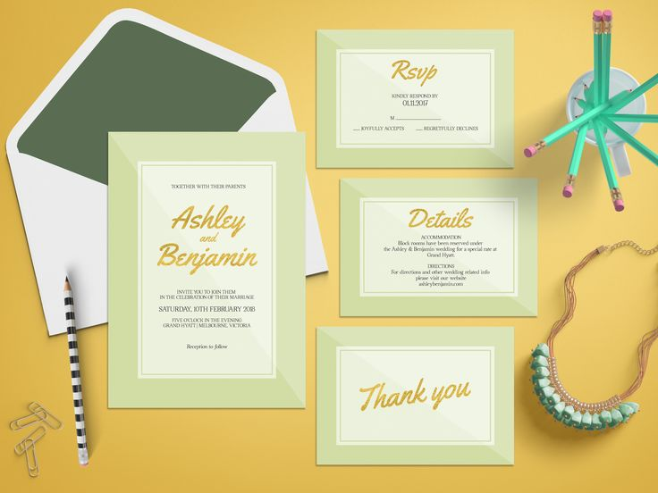 13 best Wedding Invitation Suites images on Pinterest | Watercolor ...
