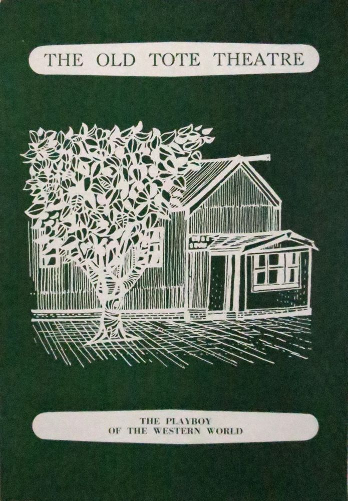 The Old Tote Theatre, The Playboy of the Western World, vintage program.