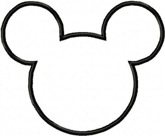 Mickey Mouse Head Templates Rydens Room Minnie Mouse Party