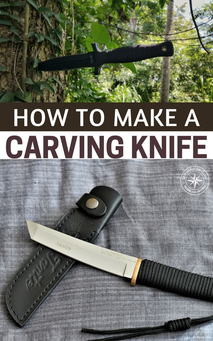 How to Make a Carving Knife With Limited Tools -- Knife making and essential blade making is an incredible thing. It is a skill that I think more people should be exposed to. It is one of the most amazing advancements of human society that we were able to pull ore from the ground and burn the impurities out of it. #diy #carvingknife #survival #prepping