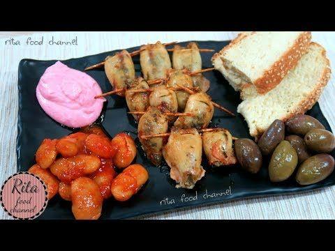 FASZEROWANE KALMARY BABY | jak oczyścić kalmary | kuchnia grecka | rita food channel - YouTube