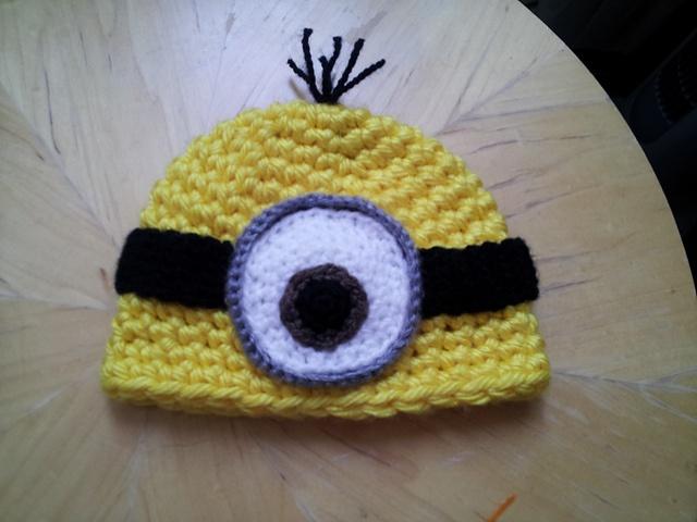 Despicable Me Minion Hat #crochet