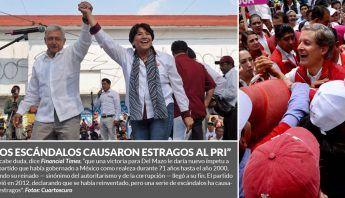 """El Comité de Jóvenes de Movimiento Regeneración Nacional de la Ciudad de México difundió un video donde invitó a la ciudadanía a """"engañar"""" al Partido Revolucionario Institucional al momento de votar en las elecciones del 4 de junio."""