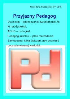 przyjazny pedagog : Miesięcznik Przyjazny Pedagog - nowy numer Paździe...