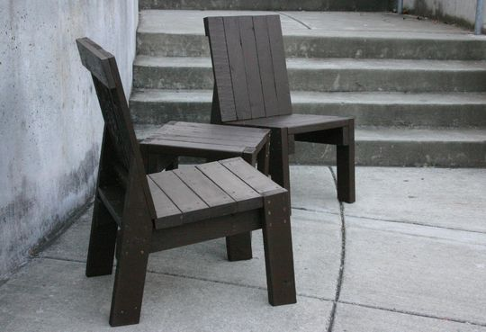 2x4 Furniture: Idea, Craft, Wood Projects, Chairs, 2X4 Furniture, 2X4S, Garden, 2X4 Chair, Diy Projects