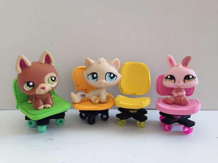 How to make LPS accessories: LPS computer chair