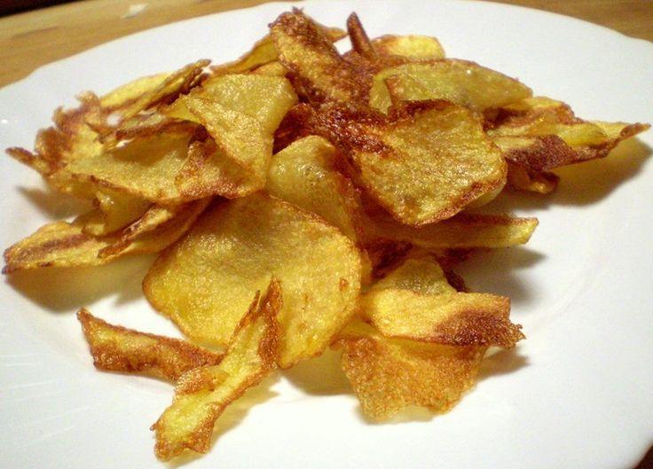 Domácí bramborové lupínky | Vaření s Tomem