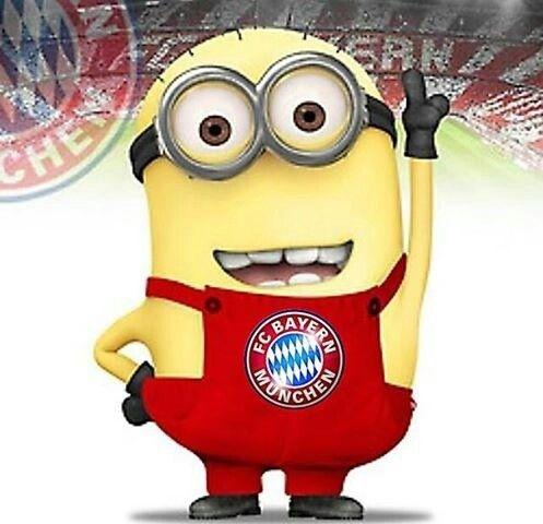 FC Bayern München ist cool | Minions, Olaf &Co | Pinterest | Bayern ...