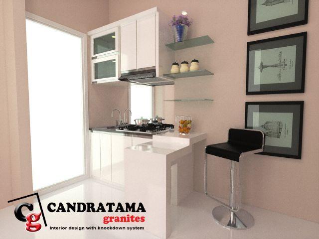 interior kediri - interior malang - interior jombang - interior blitar - interior nganjuk - interior tulungagung - interior trenggalek - kitchen set - mini bar - dapur - minimalis - modern