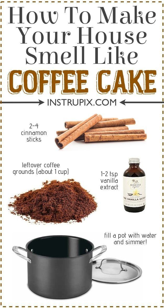 How To Make Your House Smell Like Coffee Cake Fall Pinterest Potpourri Recipes And Homemade