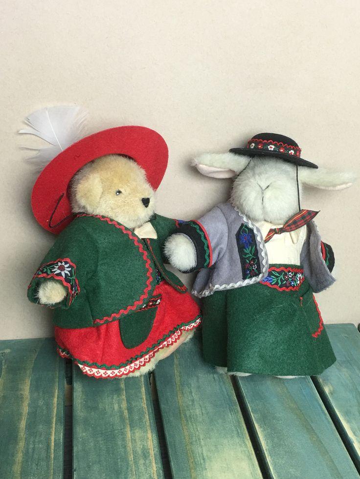 Muffy & Hoppy Vanderbear Alpine Collection Eine Kliene Mountain Climbing Outfit* by Anaforia on Etsy