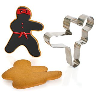Ninjabread Men from Firebox! Because everyone at Holy Mackerel HQ likes their biscuits with just a hint of danger.