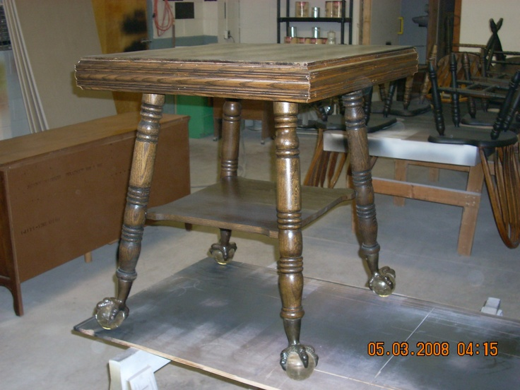 Merveilleux FURNITURE REPAIR BY FRYu0027S   THIS TABLE HAD BEEN THROUGH A FIRE. LOOK AT IT