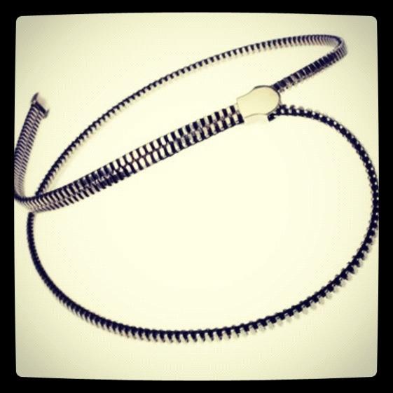 Zipper Necklace by Droog Design