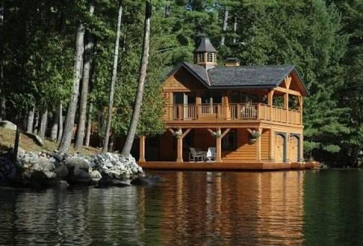 Love this boathouse.
