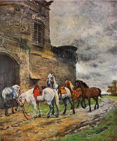 Skredsvig, Christian, (1854-1924), Ballad, 1881