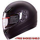 #Matte Black #Full Face #Motorcycle #Helmet DOT +2 Visor (Large)  For full review visit http://best10best.com/best-motorcycle-helmet/
