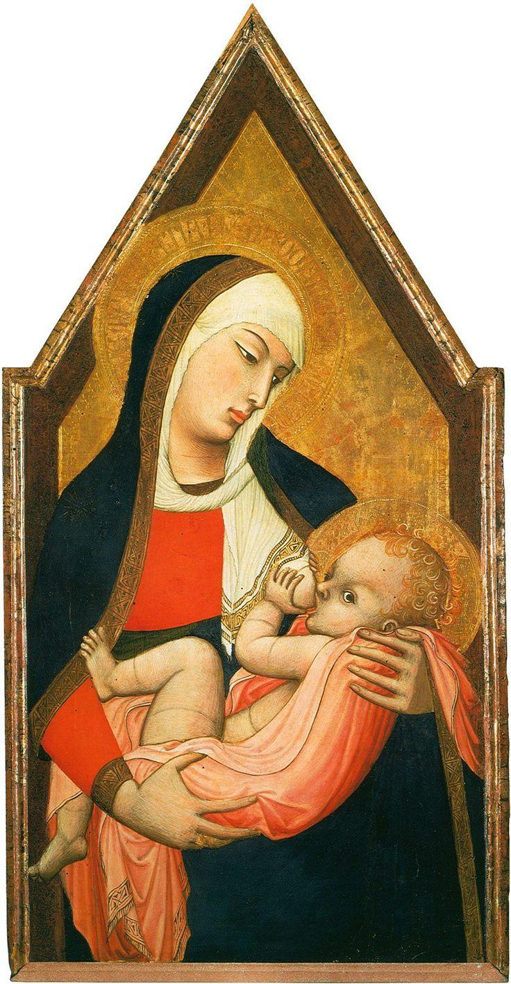 //Ambrogio Lorenzetti, Madonna del Latte