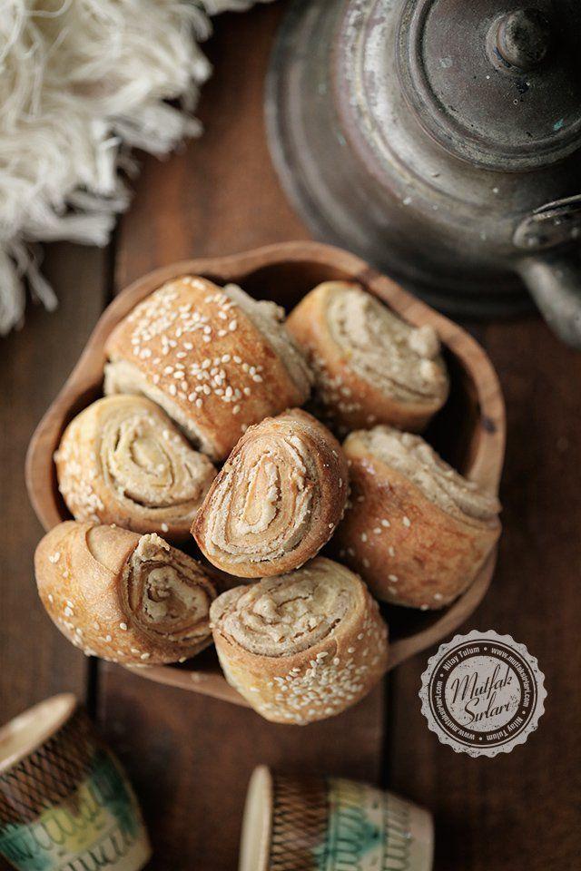 Tahinli Cevizli Çörek Tarifi   Mutfak Sırları