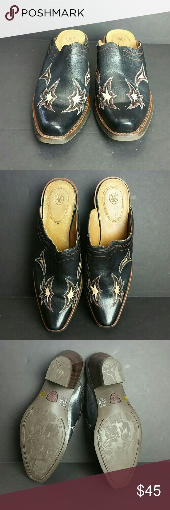 ARIAT WOMEN MULES VERY CLEAN INSIDE-OUT   SKE # GGPO Ariat Shoes Mules & Clogs